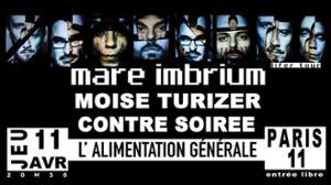 Mare imbrium / Moise Turizer / Contre Soirée @ L'Alimentation générale