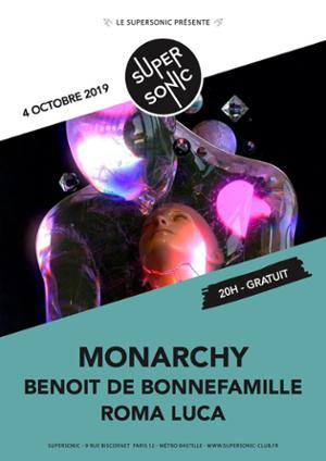 Monarchy en concert au Supersonic (Free entry)