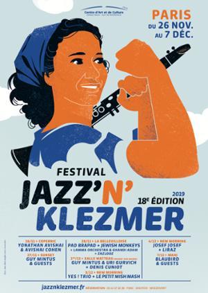 FESTIVAL JAZZ'N'KLEZMER w/ PAD BRAPAD + JEWISH MONKEYS