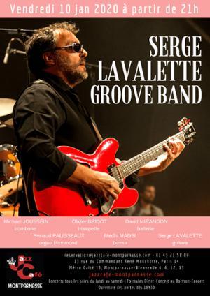 Serge Lavalette Groove Band au Jazz Café Montparnasse
