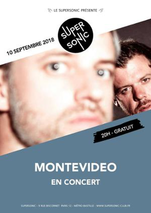 Montevideo (Dancepop, Tigersushi) en concert au Supersonic