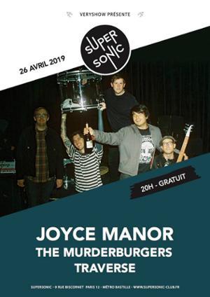 Joyce Manor • The Murderburgers • Traverse / Supersonic (Free)