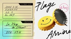 El Hey – Plage Arrière [Open Air] w/Jamie 3:26, Flabaire & OG.D