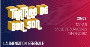 Tartare de Bon Son w/ Tomasi - Basile de Suresnes - Ten Fingerz