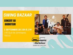 Swing Bazaar en concert au Barboteur