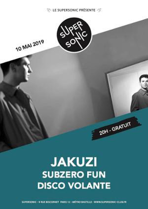 Jakuzi (synthpop, city slang) en concert au Supersonic