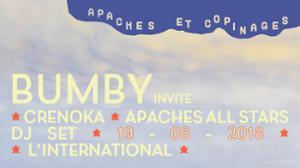 Apaches et Copinages ! BUMBY invite Crenoka + DJ set apaches