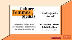 CULTURE, FEMMES & MEDIAS : RENCONTRE & DISCUSSIONS