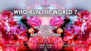 Apero Electronique x Dis'care: Who run the world ?