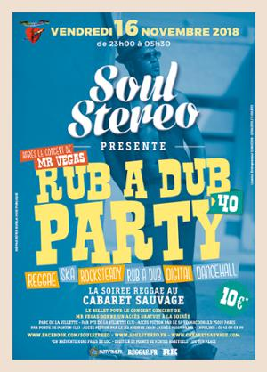 RUB A DUB PARTY #40 - SOUL STEREO SOUND SYSTEM