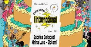 L'Inter fête ses 10 ans : Sabrina Bellaouel  Nirina Lune  Elotomi