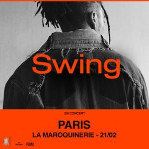 Swing (L'Or du Commun) en concert à Paris le 21/02/20