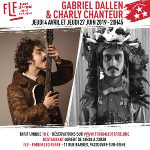 Gabriel Dallen & Charly Chanteur au FLF - Forum Léo Ferré