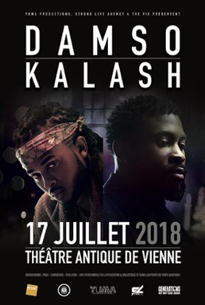 Damso & Kalash • Théatre Antique de Vienne • 17 juillet 2018