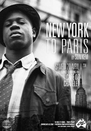 New-York to Paris #Avr by Sonikem