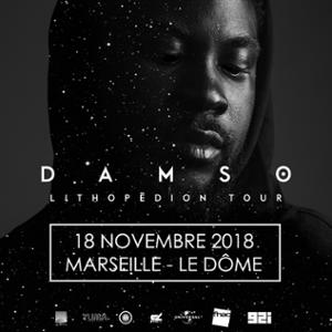 DAMSO • Le Dôme, Marseille • 18 novembre 2018