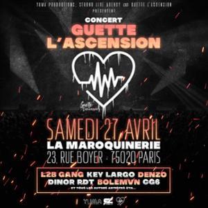 Guette L'Ascension • La Maroquinerie, Paris • 27 avril 2019