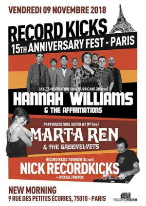 RECORD KICKS 15TH ANNIVERSARY