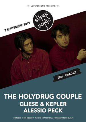 The Holydrug Couple • Velveteen • Terry & The Bums / Supersonic