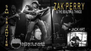 ZAK PERRY & THE BEAUTIFUL THINGS + JACK ART