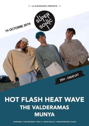 Hot Flash Heat Wave • The Valderamas • Munya / Supersonic (Free)
