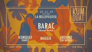 KUMQUAT w/ BARAC, MAGGIE, AROUND THE WORLD