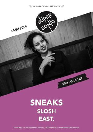 Sneaks (Merge Records, USA) en concert au Supersonic - Free