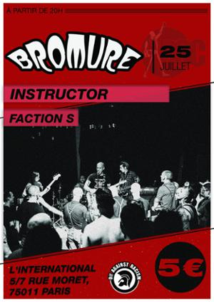 Bromure X Instructor X Faction S à L'International