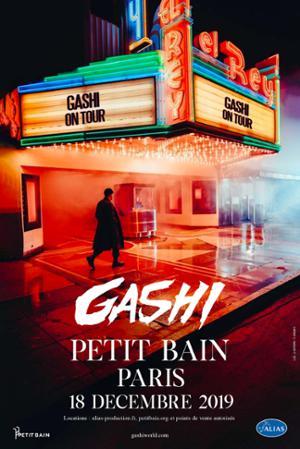 Gashi // Paris - Petit Bain // Mercredi 18 décembre 2019