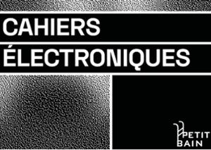 Cahiers Electroniques