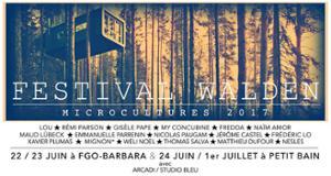 FESTIVAL WALDEN AVEC MICROCULTURES - NAÏM AMOR + NICOLAS PAUGAM + FREDDA + JÉRÔME CASTEL