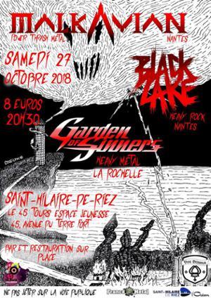 Malkavian / Black Lake / Garden Of Sinners