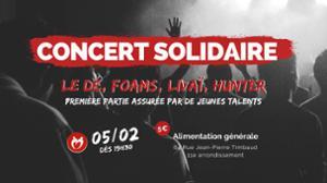 Une couverture pour l'hiver - concert solidaire