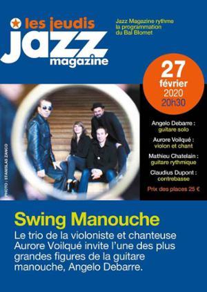 SWING MANOUCHE – Les Jeudis JAZZ MAGAZINE
