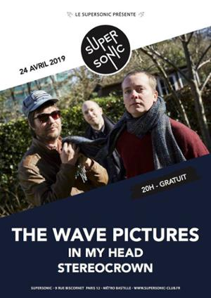 The Wave Pictures • Stereocrown / Supersonic (Free entry)