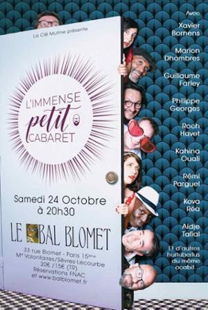 -- CONCERT REPORTÉ -- L'IMMENSE PETIT CABARET