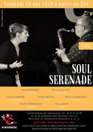 Soul Serenade au Jazz Café Montparnasse