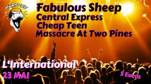 Fabulous SheepXCentral ExpressXCheap TeenXMassacre At Two Pines