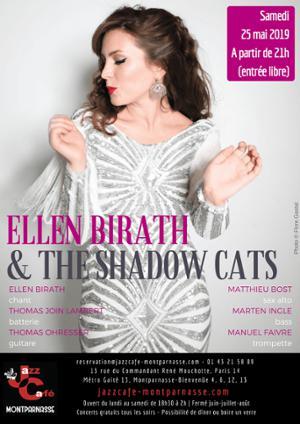 Ellen Birath & The Shadow Cats au Jazz Café Montparnasse