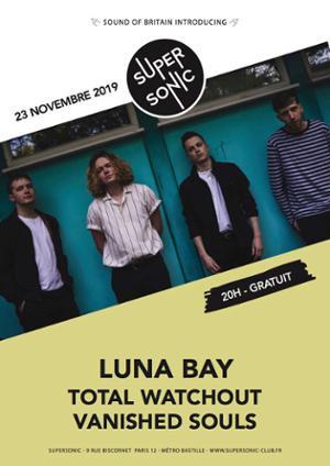 Luna Bay en concert au Supersonic (Free entrance)