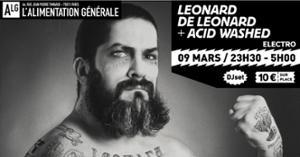 LEONARD DE LEONARD + ACID WASHED