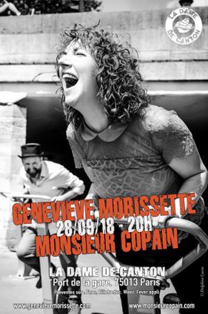 Geneviève MORISSETTE + MONSIEUR COPAIN