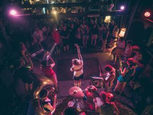 Nuit fanfares w/ Rolland Merguez + LGMX