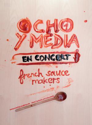 OCHO Y MEDIA + CAMPO Y SABOR au STUDIO DE L'ERMITAGE