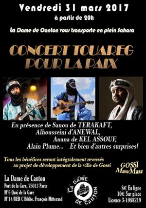 Anana de KEL ASSOUF + collectif Touareg