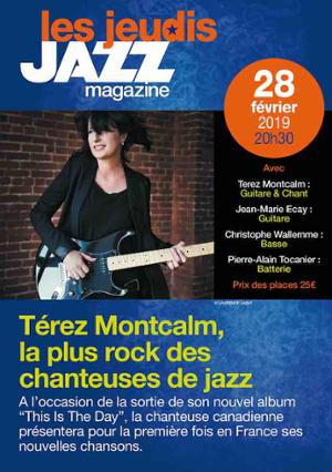TEREZ MONTCALM – This Is The Day. Les Jeudis JAZZ MAGAZINE