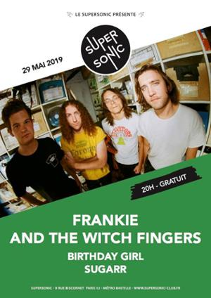 Frankie and the Witch Fingers en concert au Supersonic