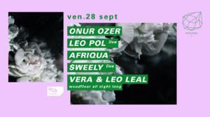 Concrete: Onur Ozer, Leo Pol live, Afriqua, Sweely live