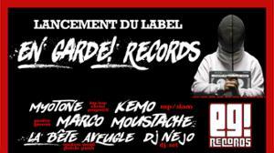 Lancement du label En Garde! Records