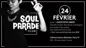 SOUL PARADE CLUB #61 INVITE TOF IMBERT